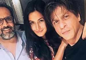 Shahrukh Khan  Katrina Kaif STARTS SHOOTING for Anand L Rai, FIRST photo OUT from sets!