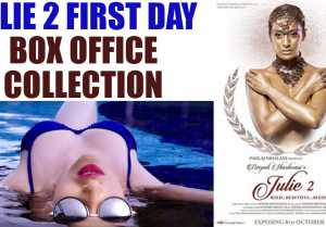 Julie 2 First day Box Office Collection: Raai Laxmi Debut earns Average at BO  FilmiBeat