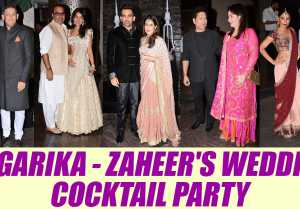 Sagarika Ghatge and Zaheer Khan host Post Marriage Party for friends; Watch Video