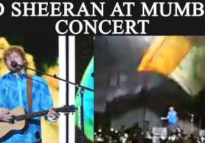 Ed Sheeran Mumbai Concert: Here are Highlights