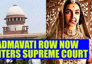Padmavati controversy : Lawyer files case in Supreme Court, seeking deletion of scene
