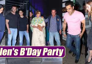 Salman Khan's family at mother Helen's Birthday Party; Watch Video