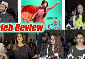 Tumhari Sulu Celeb Review: Shilpa Shetty, Aditi, Bhumi, Dia talk about Vidya Balan's film
