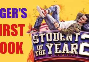 Student Of The Year 2 is here, First Look of Tiger Shroff is out