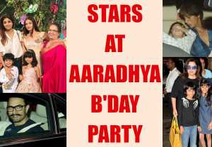 Aaradhya Bachchan Birthday: Aishwarya Rai, Abhishek throw party, Shahrukh, Aamir attend