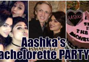 Aashka Goradia CELEBRATES Bachelorette with Mouni Roy, Adaa Khan & others
