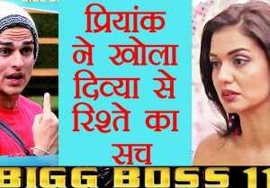 Bigg Boss 11: Priyank Sharma REVEALS he BROKE UP with Divya Agarwal before ENTERING show  FilmiBeat