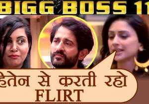 Bigg Boss 11: Hiten Tejwani's wife Gauri Pradhan LIKES Arshi Khan's FLIRTING  FilmiBeat