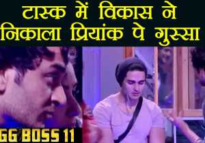 Bigg Boss 11: Vikas Gupta gets angry on Priyank over Divya during luxury budget task