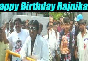 Super Star RajniKanth celebrates 67th birthday