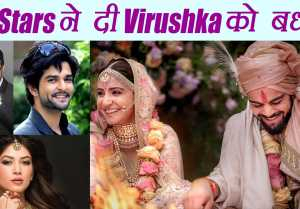 Virat Kohli  Anushka Sharma Wedding: Karan Patel, Kapil & other TV Celebs WISH Virushka