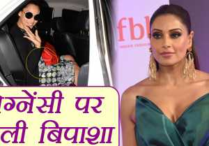 Bipasha Basu BREAKS SILENCE on her Pregnancy NEWS  FilmiBeat