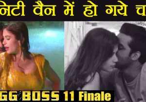 Bigg Boss 11: Puneesh Sharma & Bandgi Kalra's ROMANCE in Vanity Van