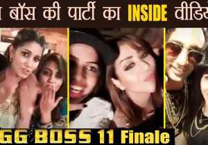 Bigg Boss 11: Shilpa Shinde, Hina Khan, Sapna Chaudhary & rest PARTYING hard; Watch Video
