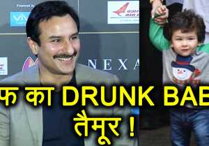 Taimur Ali Khan WALKS like a 'DRUNK BABY' says Saif Ali Khan