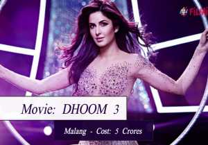 Most Expensive Bollywood Movie Songs Ever Made