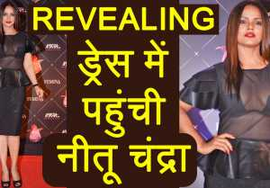 Neetu Chandra's REVEALING DRESS at Femina Beauty Awards creates BUZZ; Watch Video