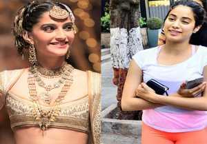 Sonam Kapoor  Anand Ahuja Wedding: Jhanvi Kapoor Spotted Outside Anita Dongre's Showrroom