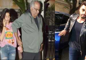 Jhanvi Kapoor Spotted At Arjun Kapoor's House To Plan Vacation!