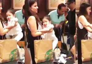 Ziva Dhoni Jumping In Sakshi Dhoni Lap, Cute Video Goes Viral