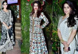 Aishwarya Rai Bachchan, Sonam Kapoor, Sara Ali Khan In Glamorous Look At Grand Reception