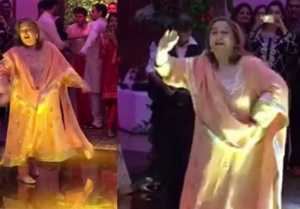 Kareena Kapoor Khan's Bua Dancing On Kajrare Song At Sandeep Khosla's Party ; Watch Video