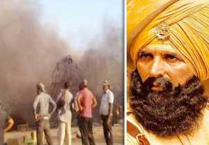 Akshay Kumar Narrowly Escapes Massive Fire At Kesari's Set