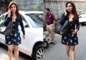 Bhumi Padnekar Roaming Around Alone On The Streets Of Mumbai