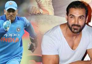 John Abraham Is Scared Of Ms Dhoni, Not Ready For Panja Fight With Him