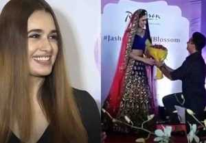 Yuvika Choudhary Reacts On Prince Narula's Proposal During Ramp Walk; Watch Video