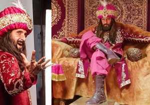 Ravi Dubey Nailed Ranveer Singh's Khilji Look; Pictures Goes Viral