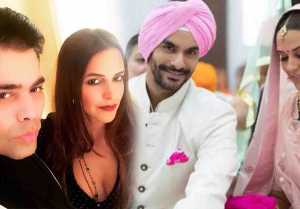 Karan Johar's Shocking Reaction On Neha Dhupia's Marriage With Angad Bedi