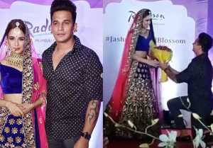 Prince Narula Proposes Yuvika Choudhary On Ramp, Check Out Video