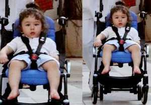 Taimur Ali Khan Takes Pram Ride Without Kareena Kapoor Khan At Nani House