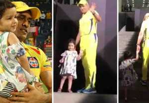 Ziva Dhoni & Ms Dhoni Shares Emotional Massege For Pune Fans