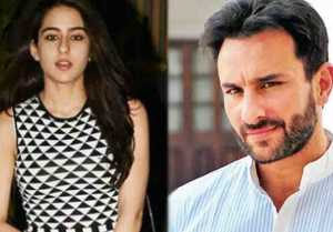Sara Ali Khan Gets Help From Papa Saif Ali Khan In Getting Role In Karan Johar's Simmba