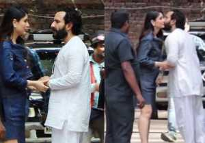 Kareena Kapoor & Saif Ali Kisses In Public At Veere Di Wedding Promotions; Watch Video!