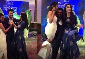 Naagin 3: Anita Hansandani And Surbhi Jyoti Enjoys Cute Gesture Of Pearl V Puri