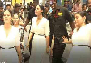 Kajol Devgn Slips In Mall; Watch Video