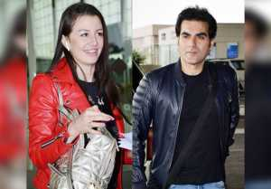 Arbaaz Khan Spotted With Mystery Girl At Mumbai Airport