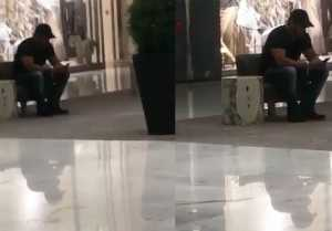 Salman Khan spending time ALONE in Dubai mall, Fans Fail to recognise; Watch Video  FilmiBeat