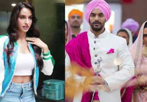 Norah Fatehi Refuses to Recognise ExBF Angad Bedi, says 'Who Is Angad'