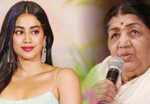 Jhanvi Kapoor gets BIGGEST Compliment from Lata Mangeshkar  FilmiBeat