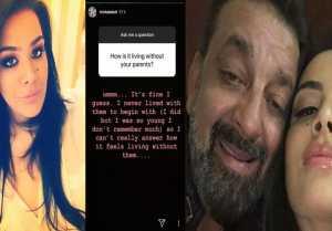 Sanju: Sanjay Dutt's daughter Trishala Dutt REVEALS, How It feels to Live without Parents FilmiBeat