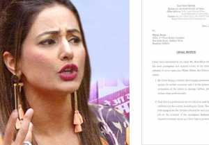 Hina Khan sends LEGAL NOTICE to Jewellery Brand, Demands Apology