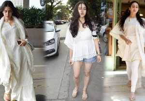 Sara Ali Khan is in LOVE with White colour, Have you noticed yet?