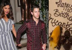 Priyanka Chopra's first picture from her Birthday celebration with Nick Jonas
