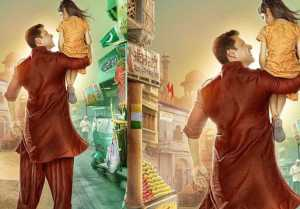 Salman Khan lifts Harshaali Malhotra on his shoulders; Unseen poster of Bajrangi Bhaijaan
