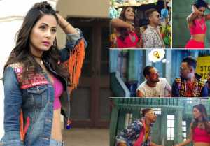 Hina Khan's fans NOT HAPPY with her punjabi song Bhasoodi