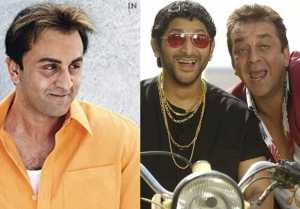 Ranbir Kapoor to Replace Arshad Warsi as 'Circuit' in Munna Bhai 3 after success of Sanju
